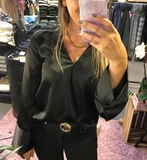 charlotte blouse black