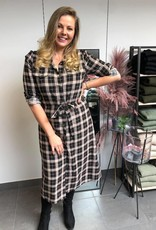 KAbabette dress black check