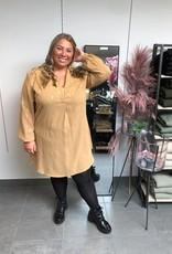 Dress leaf beige