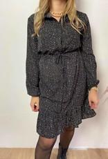 Dress Gaby black brown