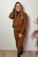 Comfi set camel brown
