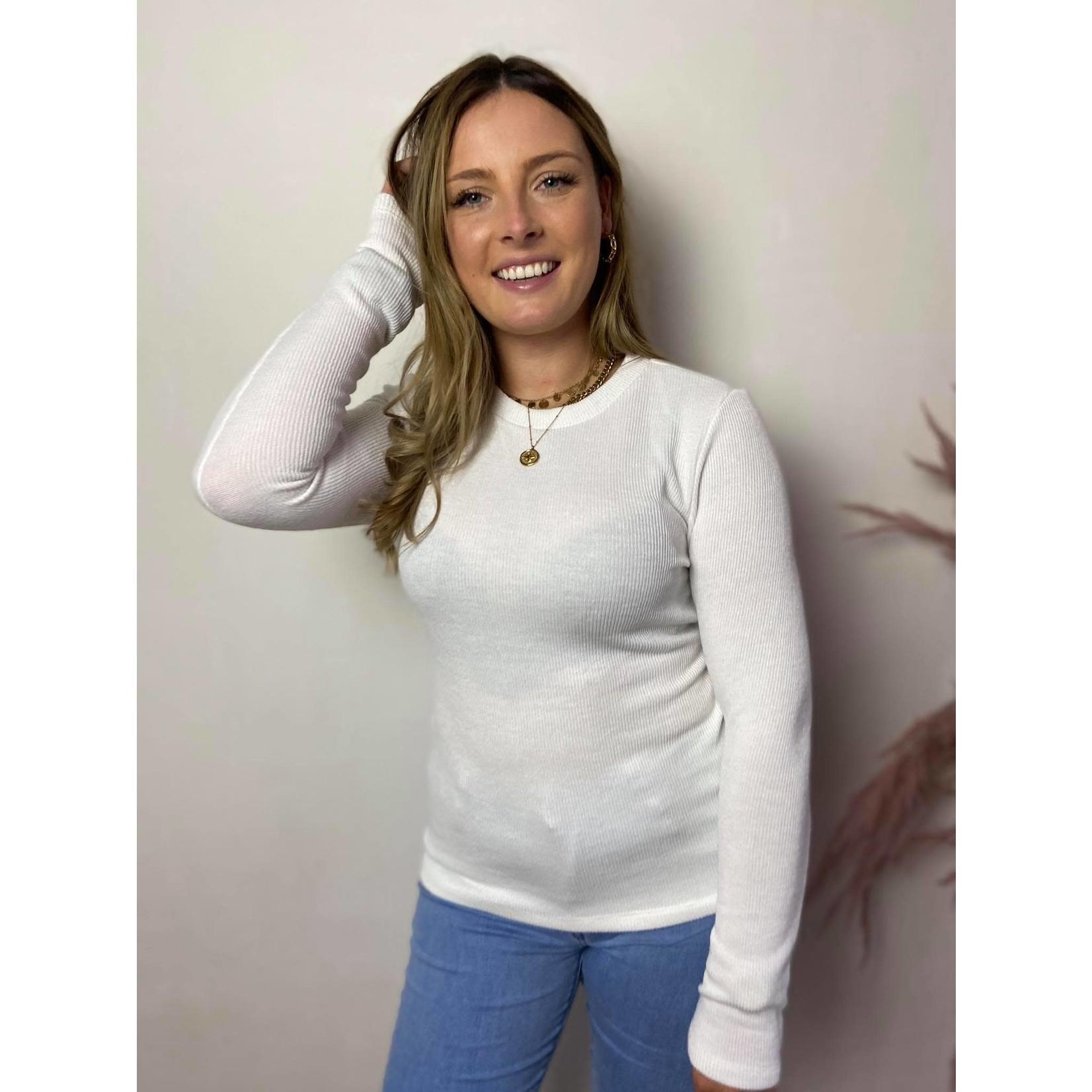 Sweater Monica white