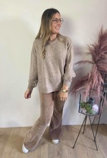 AnghaCR OZ Knit Pullover taupe
