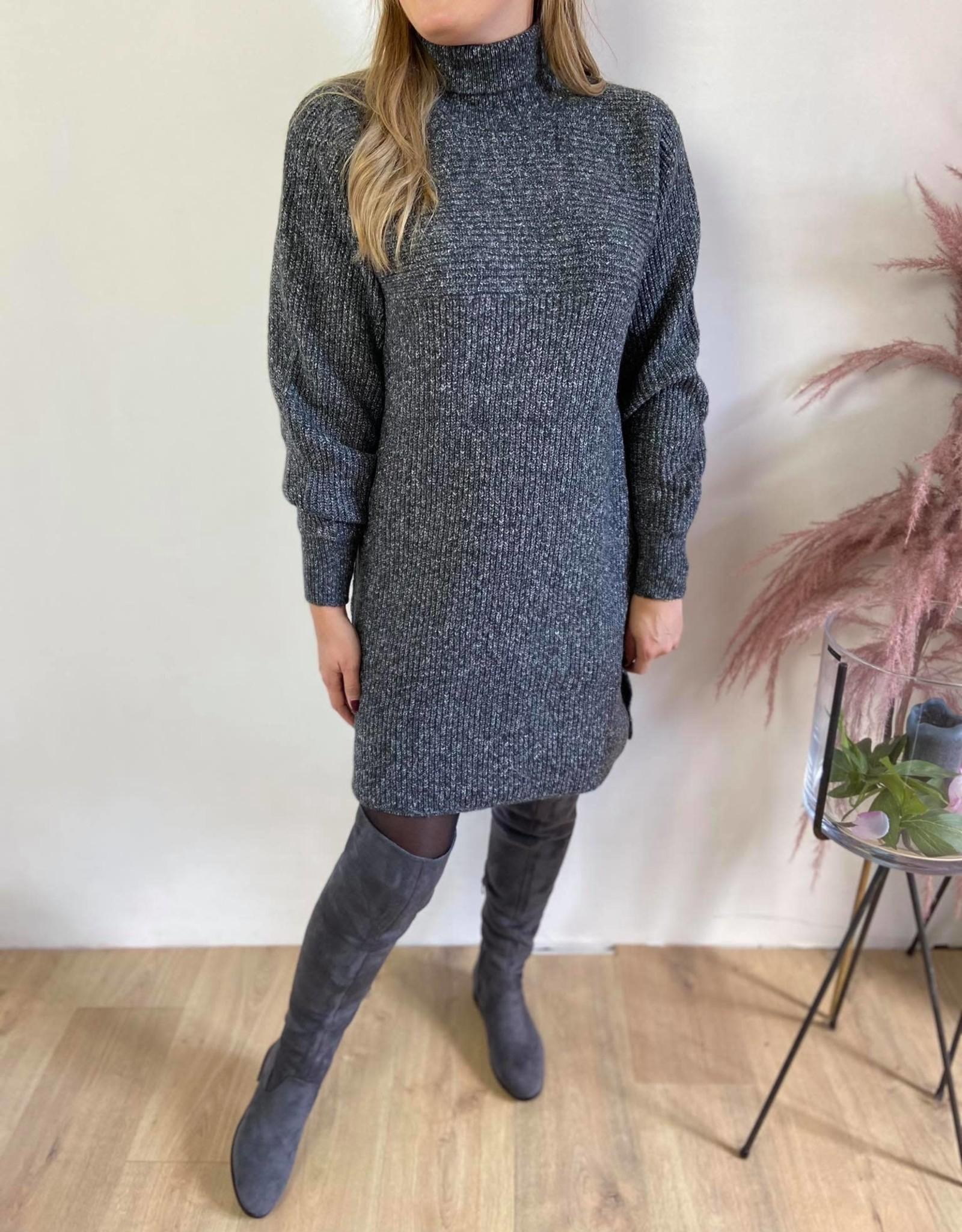 KAbetina Knit Tunic dark grey