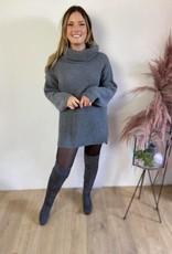 Knielaars grijs pels