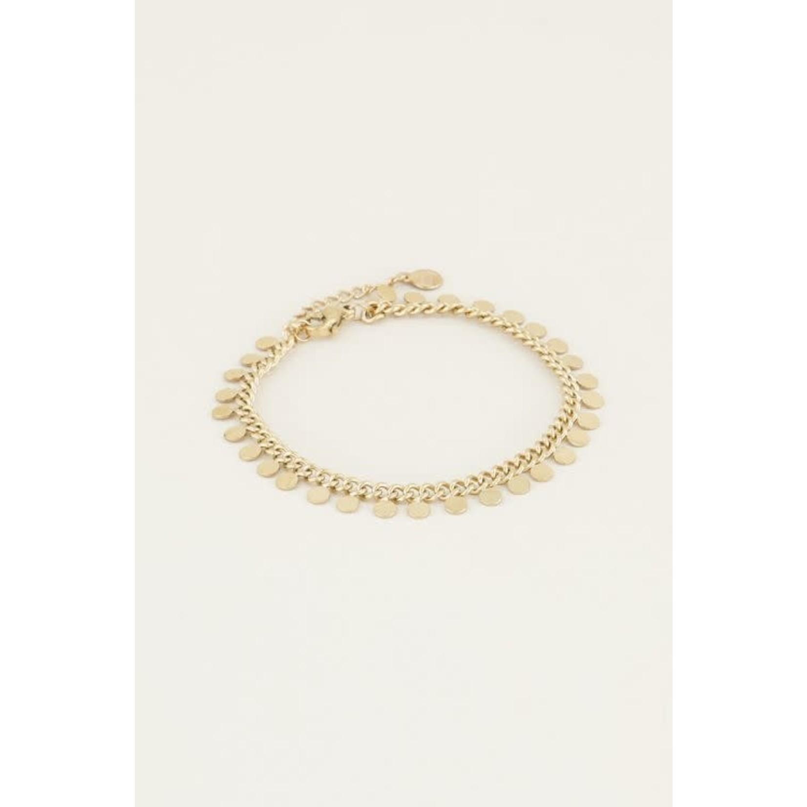 My Jewellery Coin Bracelet GOUD
