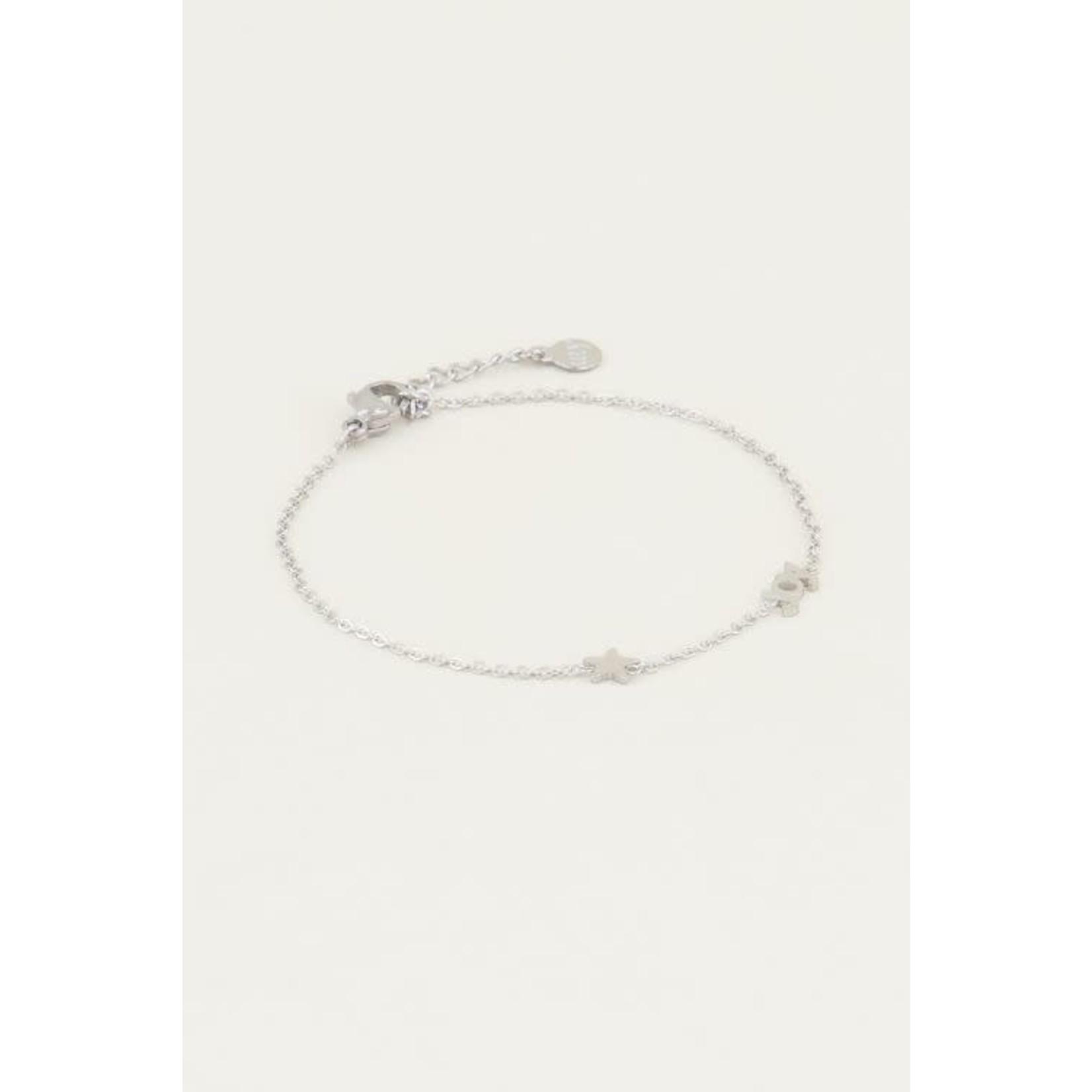 MY Jewellery Joy armband met ster zilver