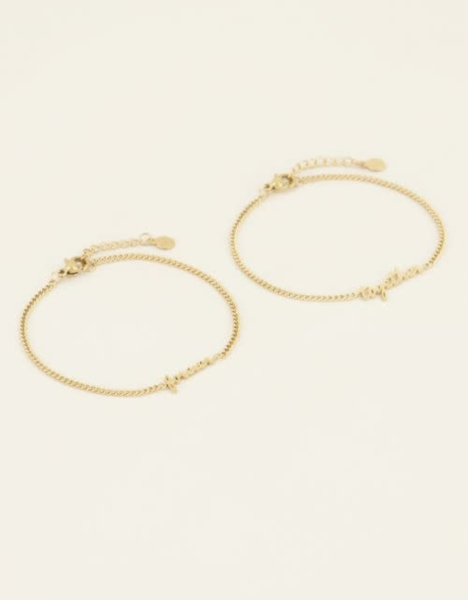 My Jewellery Forever together armband set GOUD