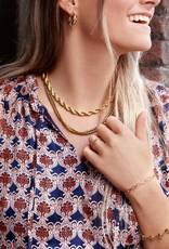 My Jewellery Ketting gedraaide schakels GOUD
