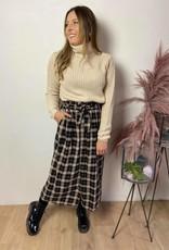 Kababette skirt black check