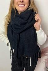 Sjaal Eline extra soft zwart