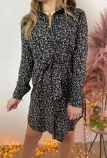 Dress Holly black flower