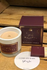 ME&MATS Luxury scented candle - Burgundy Stars