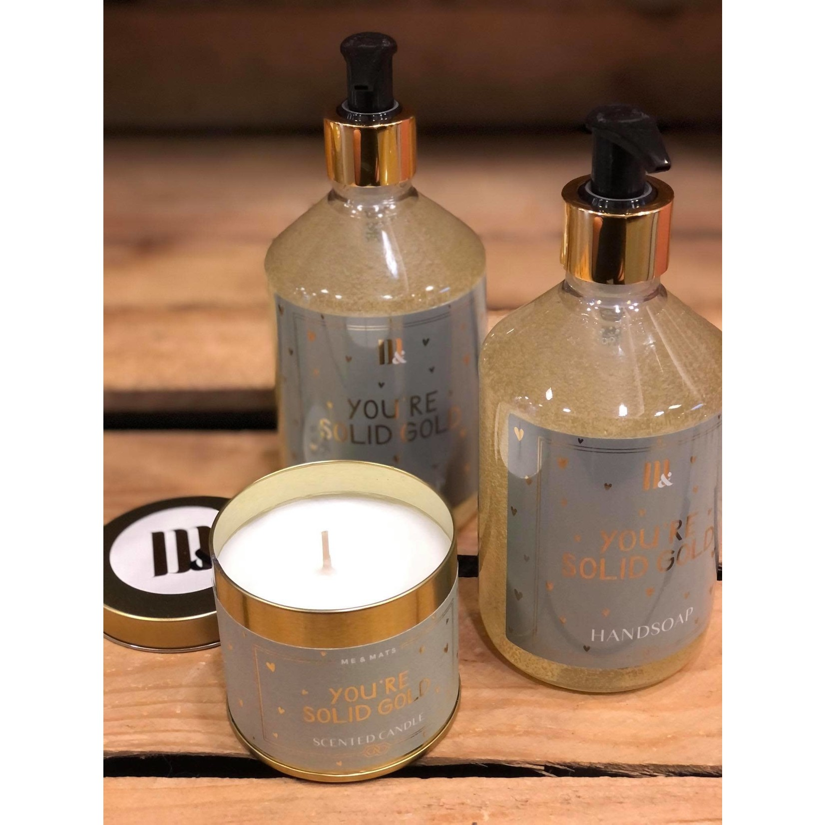 ME&MATS Hand soap - Solid Gold