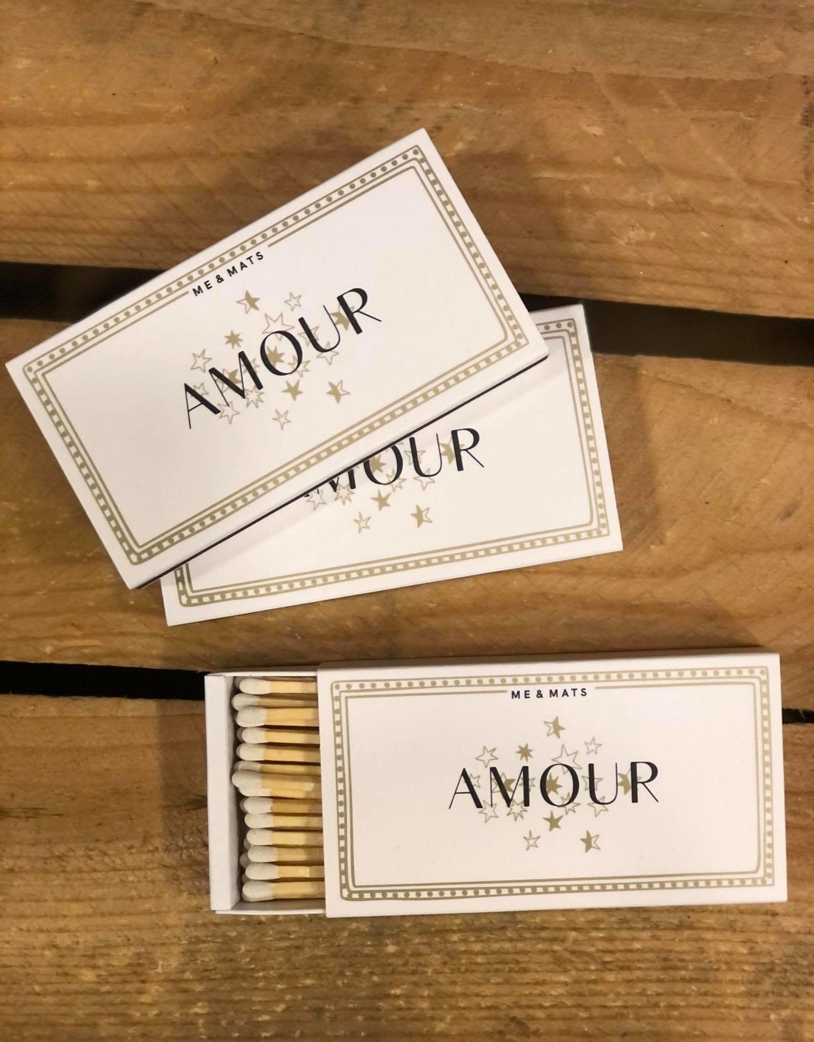 ME&MATS Matches - Amour