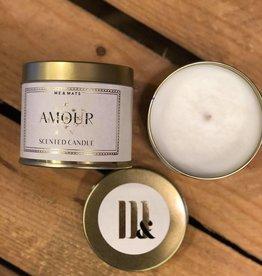 ME&MATS tin candle - Amour