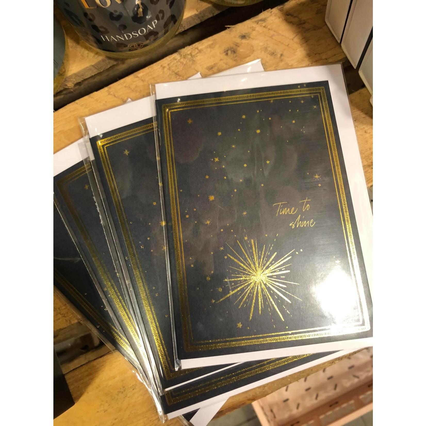ME&MATS card blue star