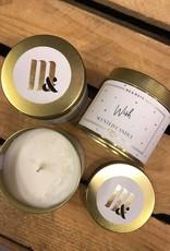 ME&MATS Tin candle - Wish