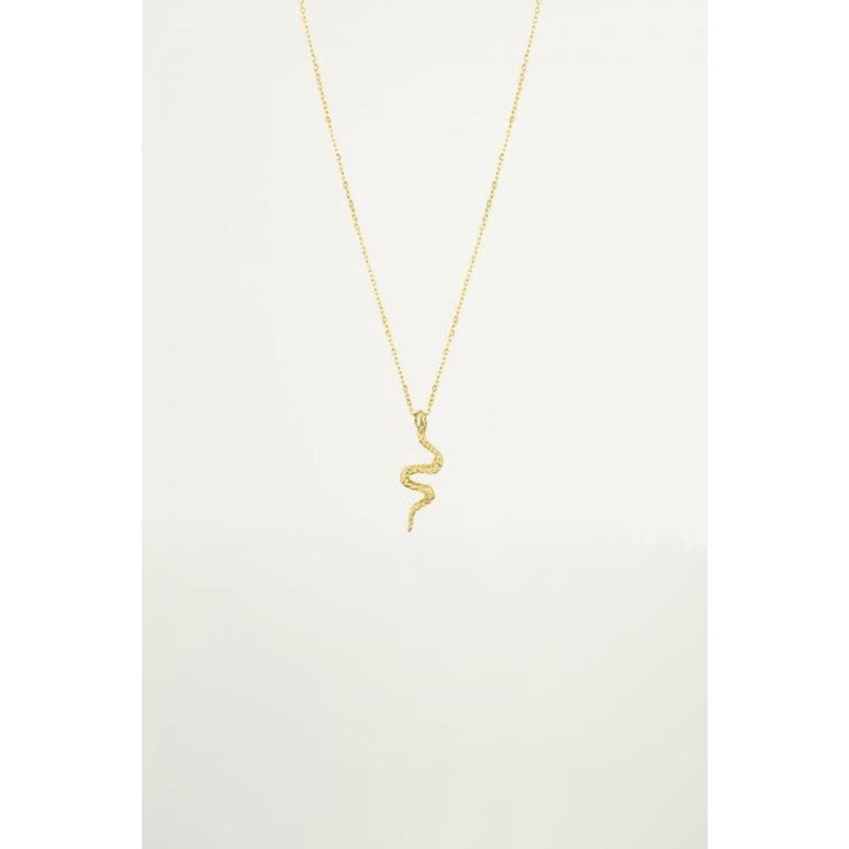 MY JEWELLERY Ketting hanger slang goud
