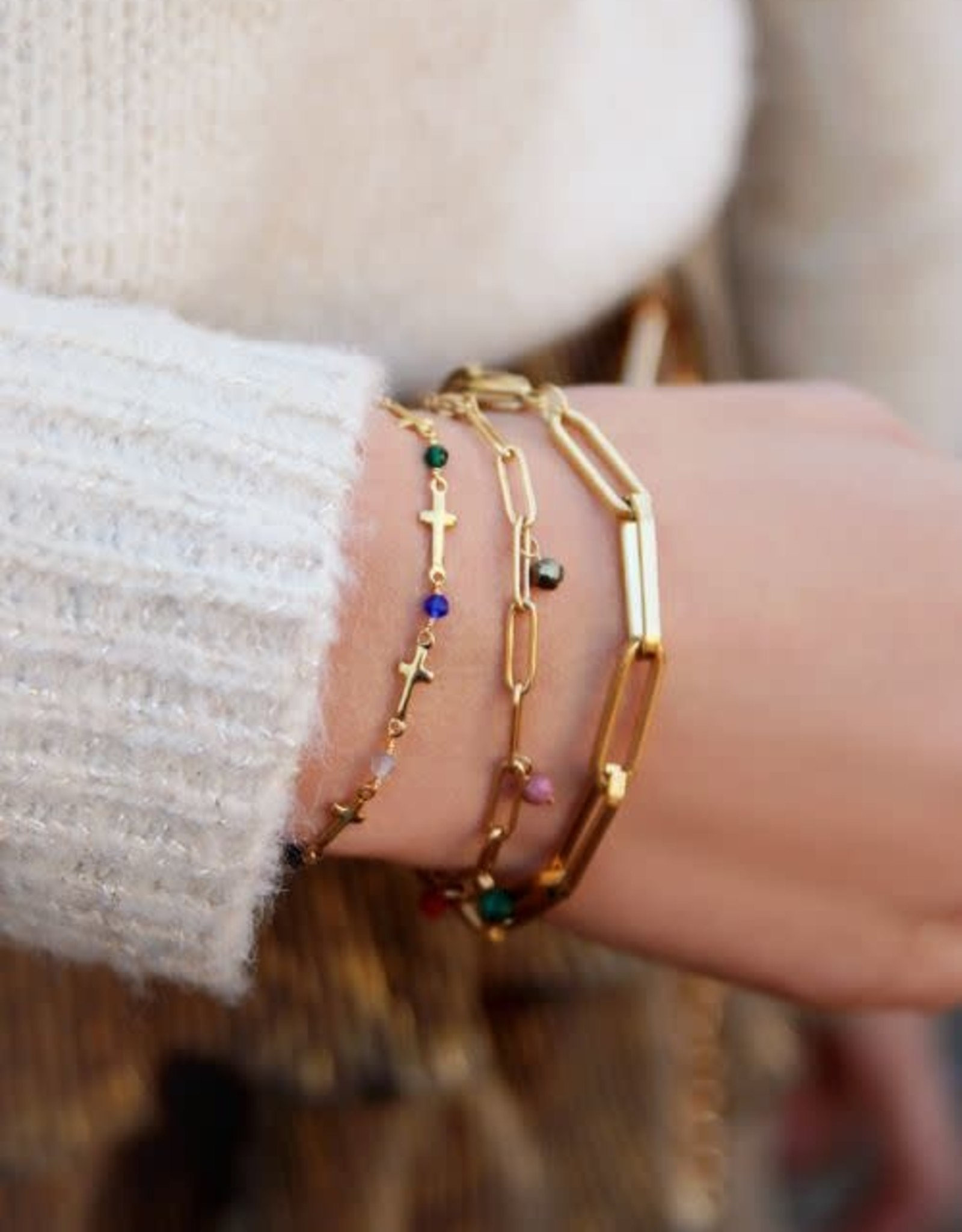 MY JEWELLERY Armband met schakels goud