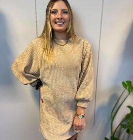 Cuduroy dress beige TU