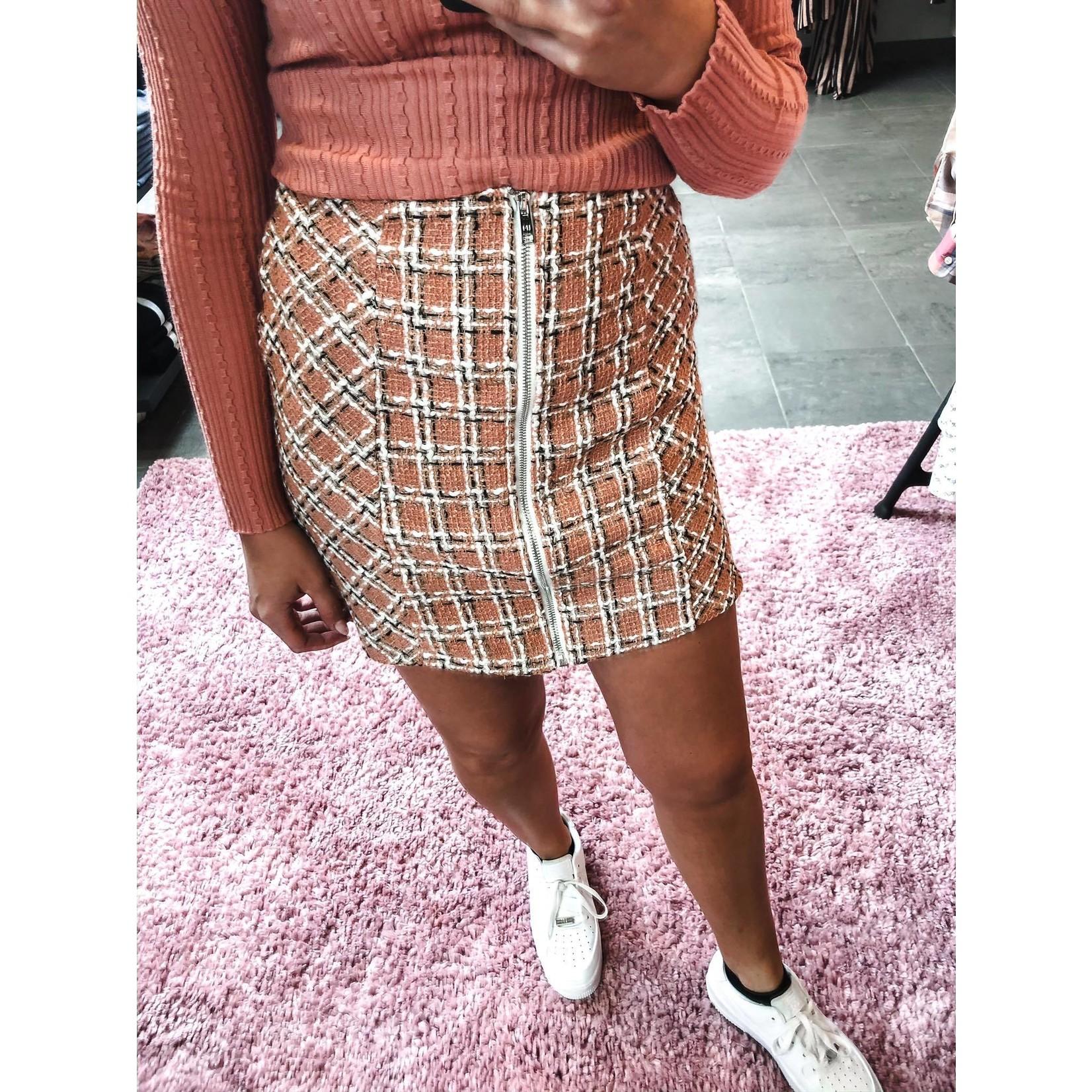 Skirt Kaylee peach