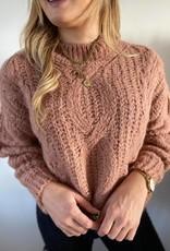 Nice sweater old pink TU