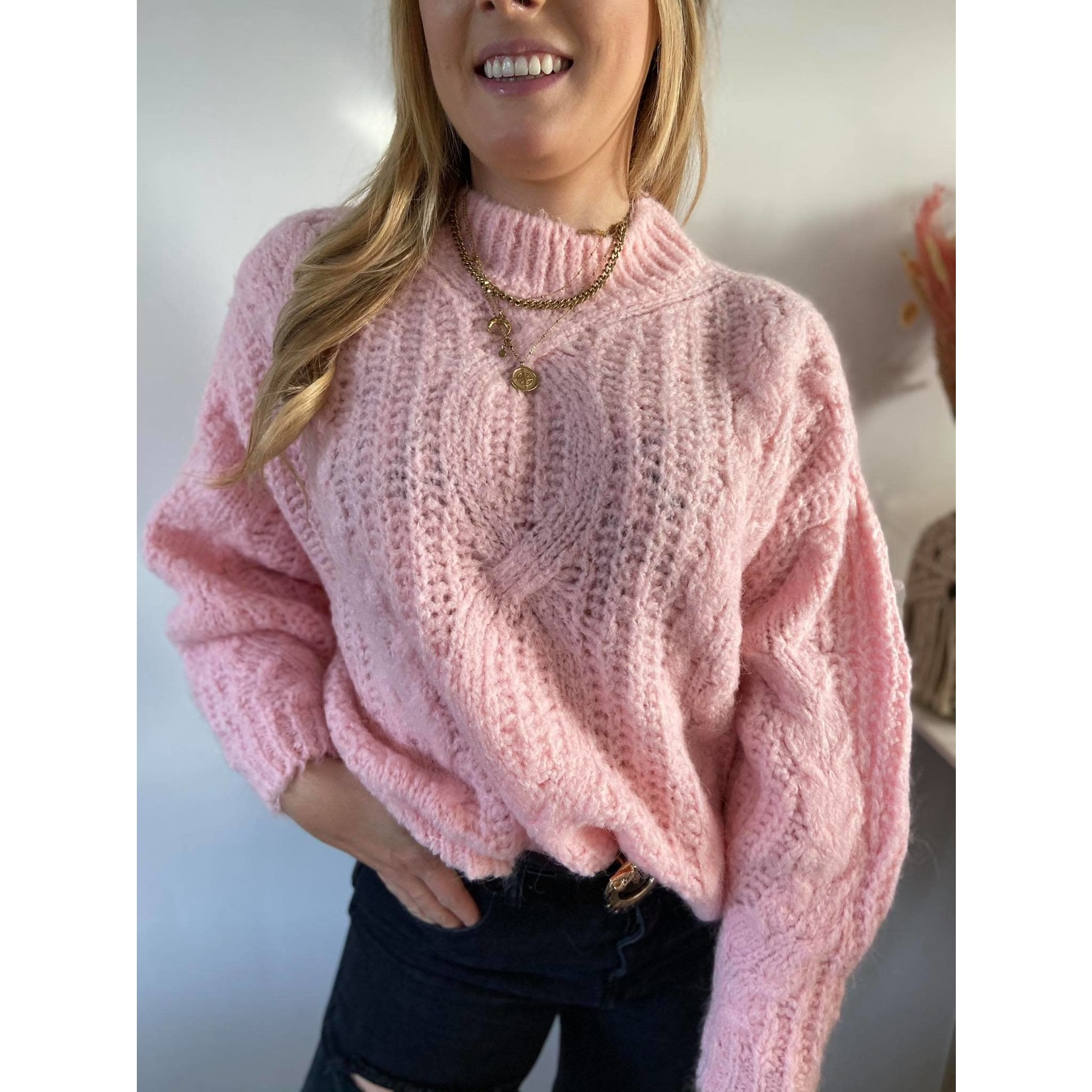 Nice sweater pink