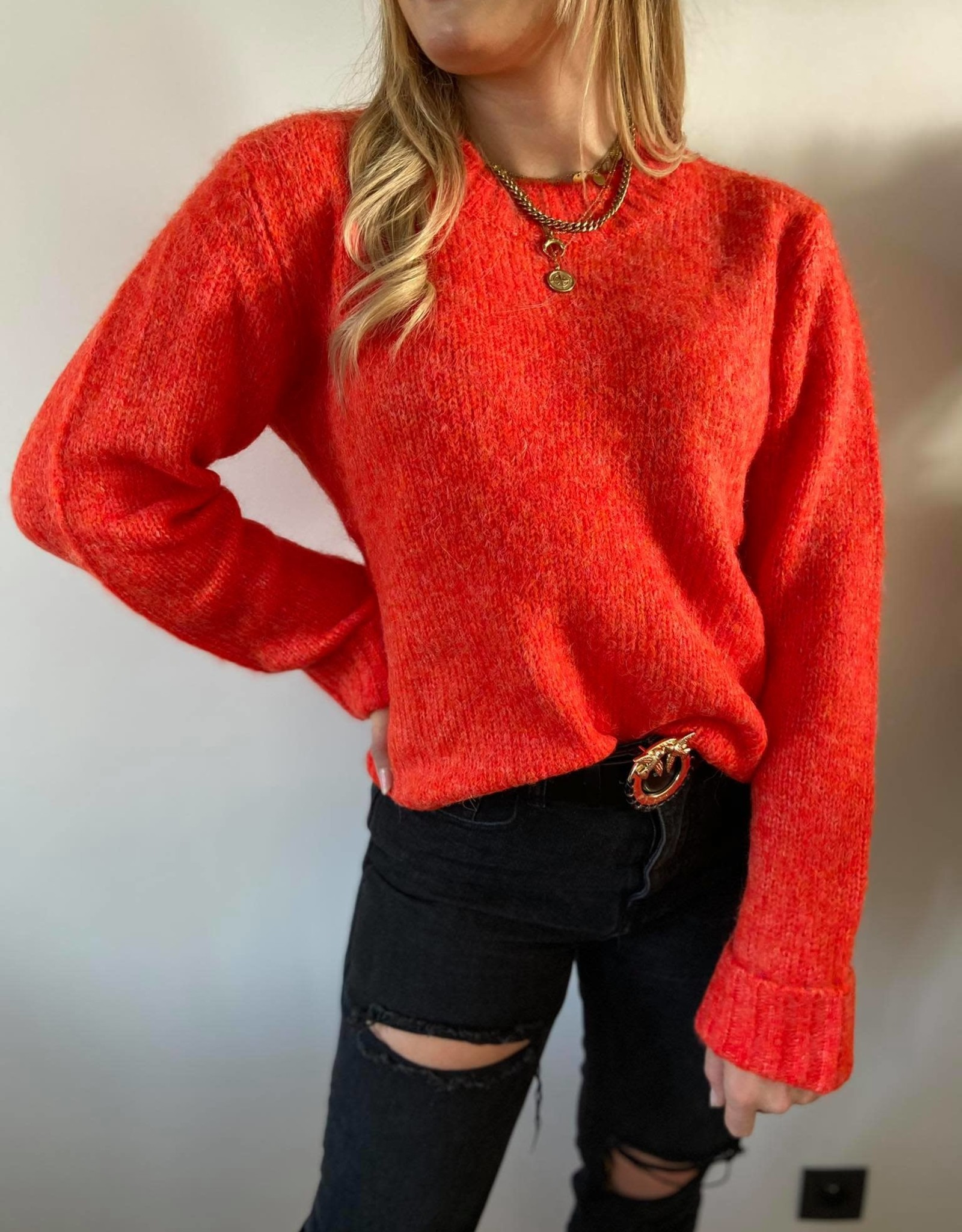 KAjulita Knit Pullover cherry tomato