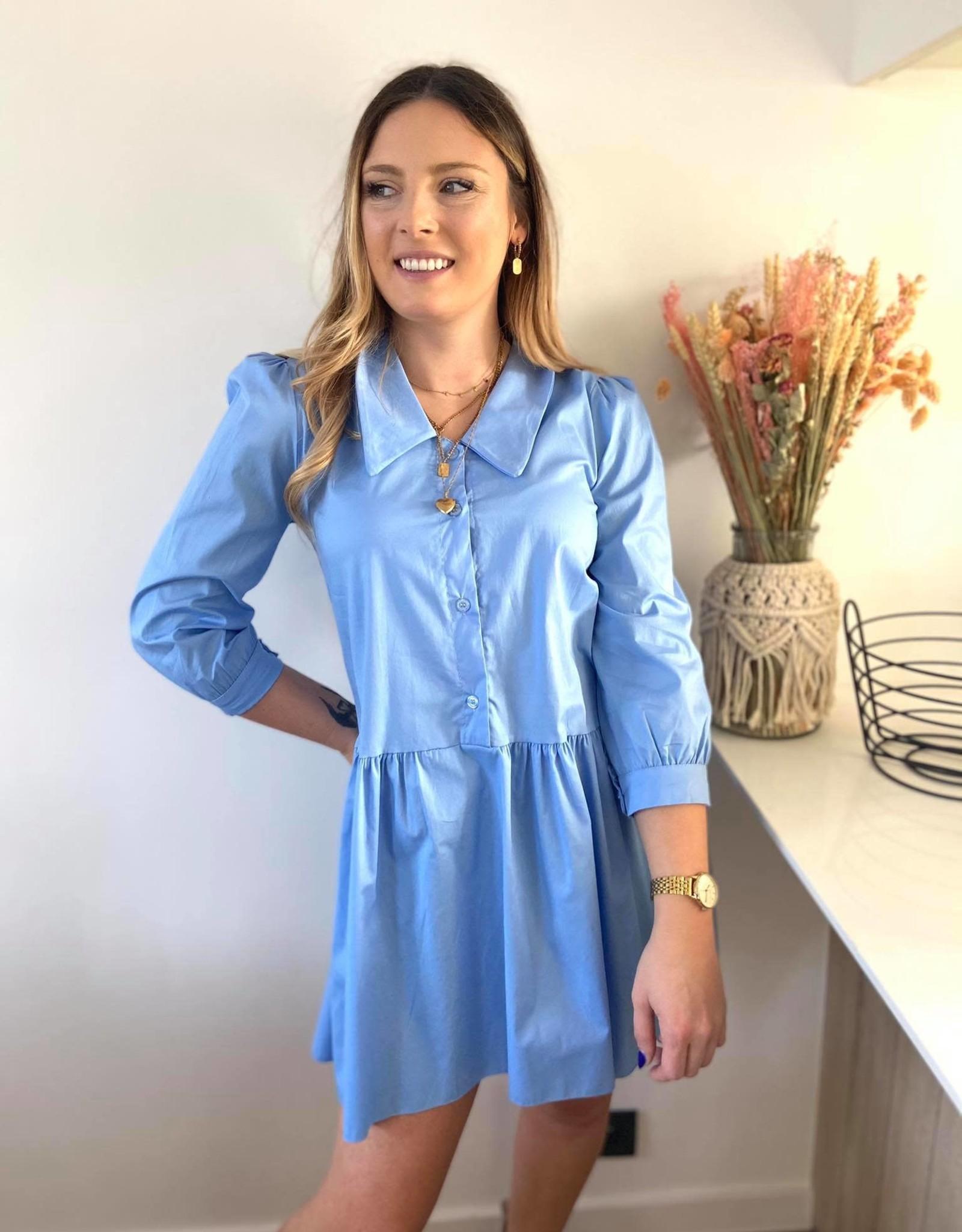 Feel good Shirt dress blue TU