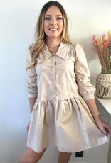 Feel good Shirt dress beige TU