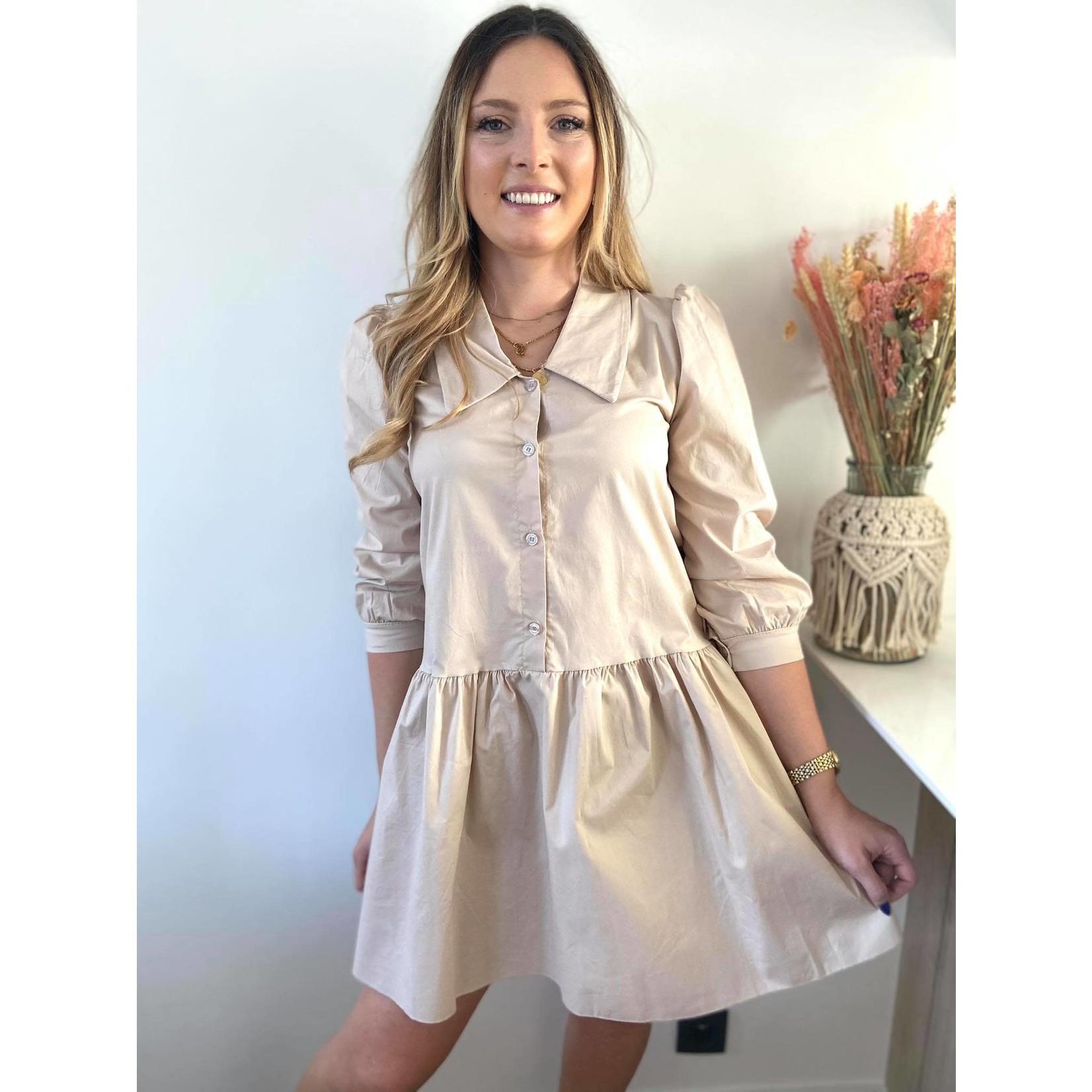 Feel good Shirt dress beige TU