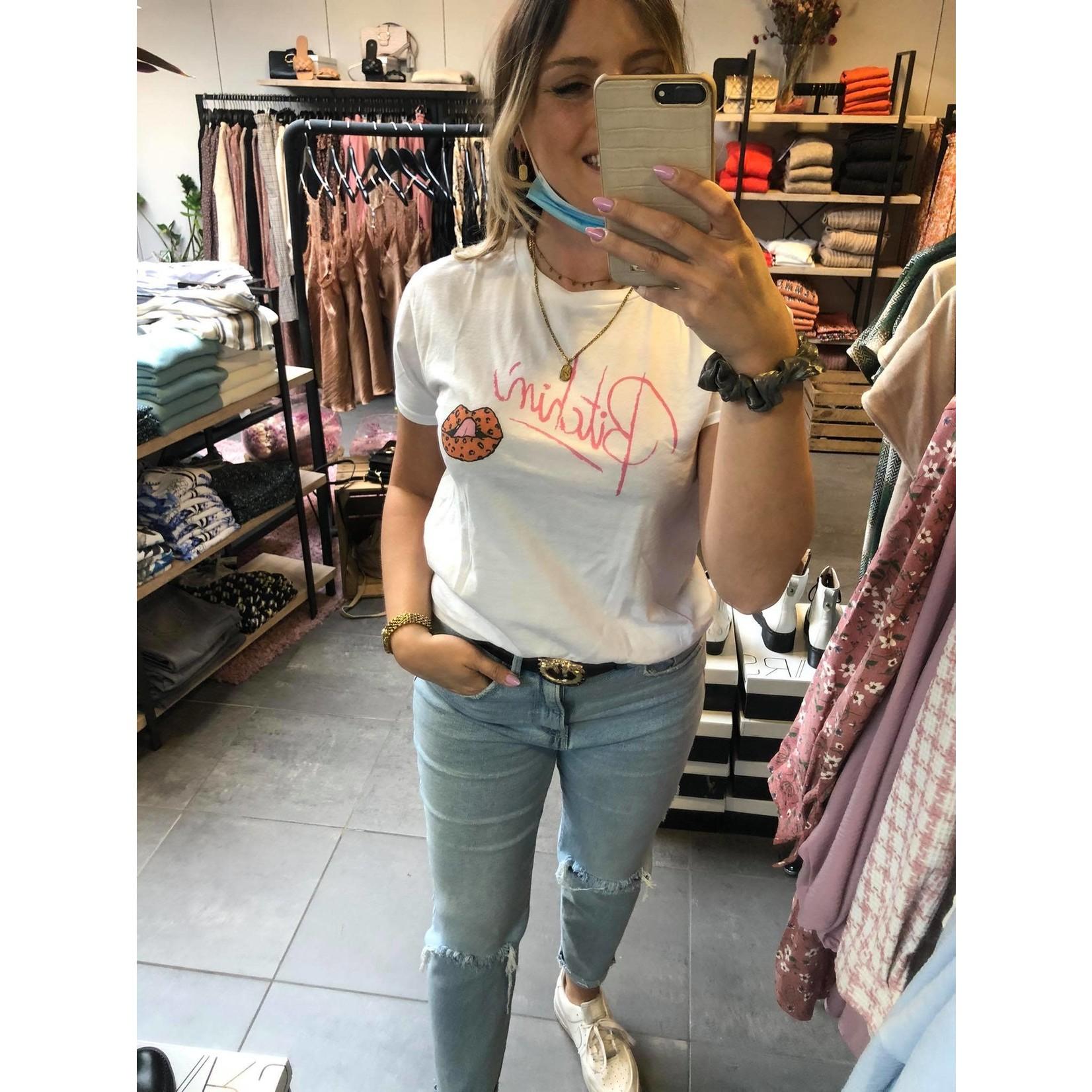 T-shirt Bitchin white
