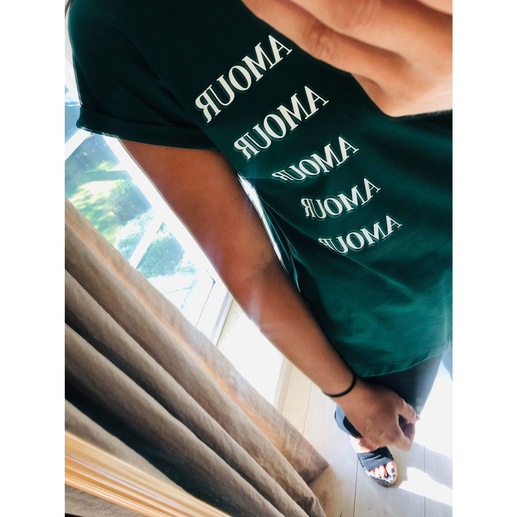 AMOUR TEE green
