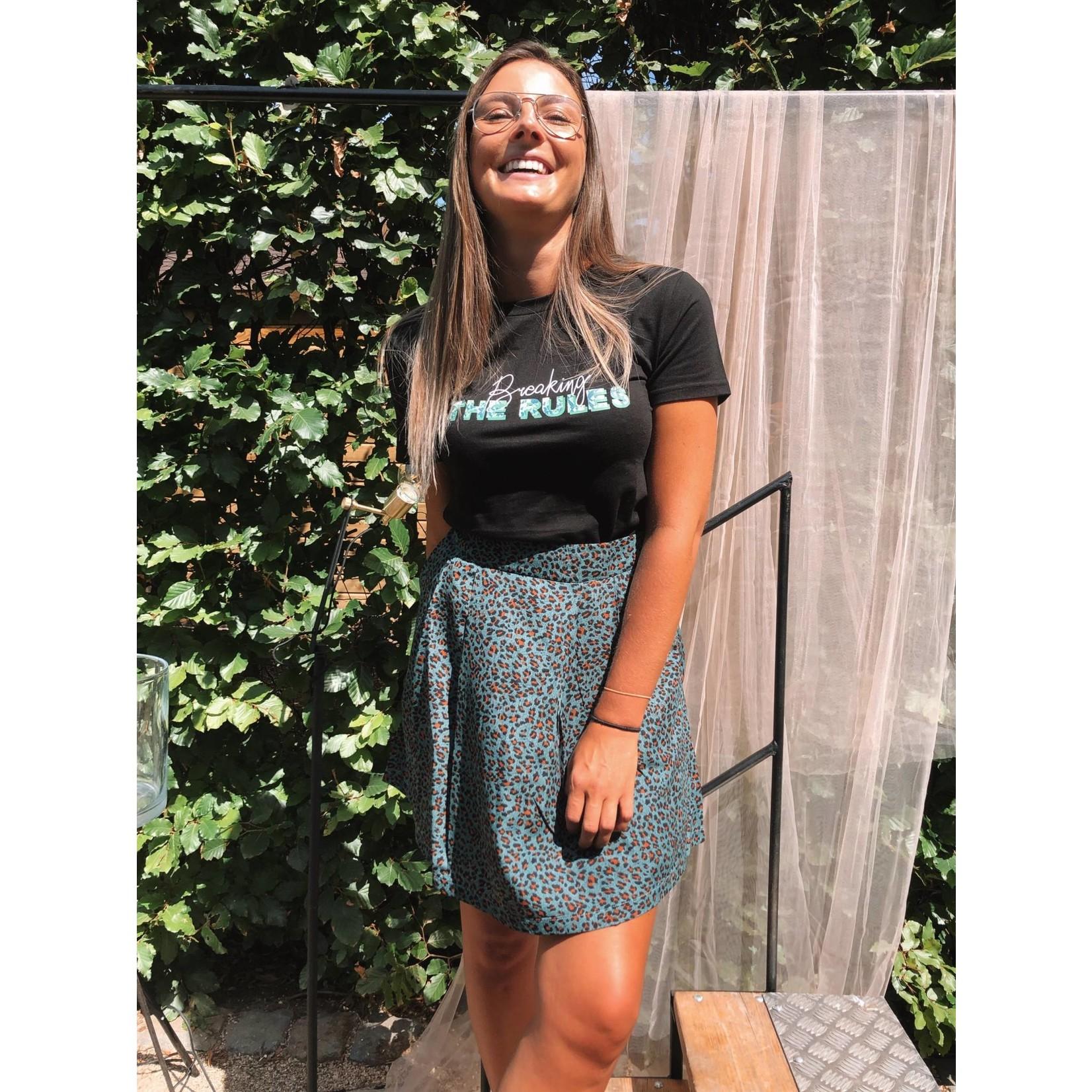 Skirt Joseline blauw