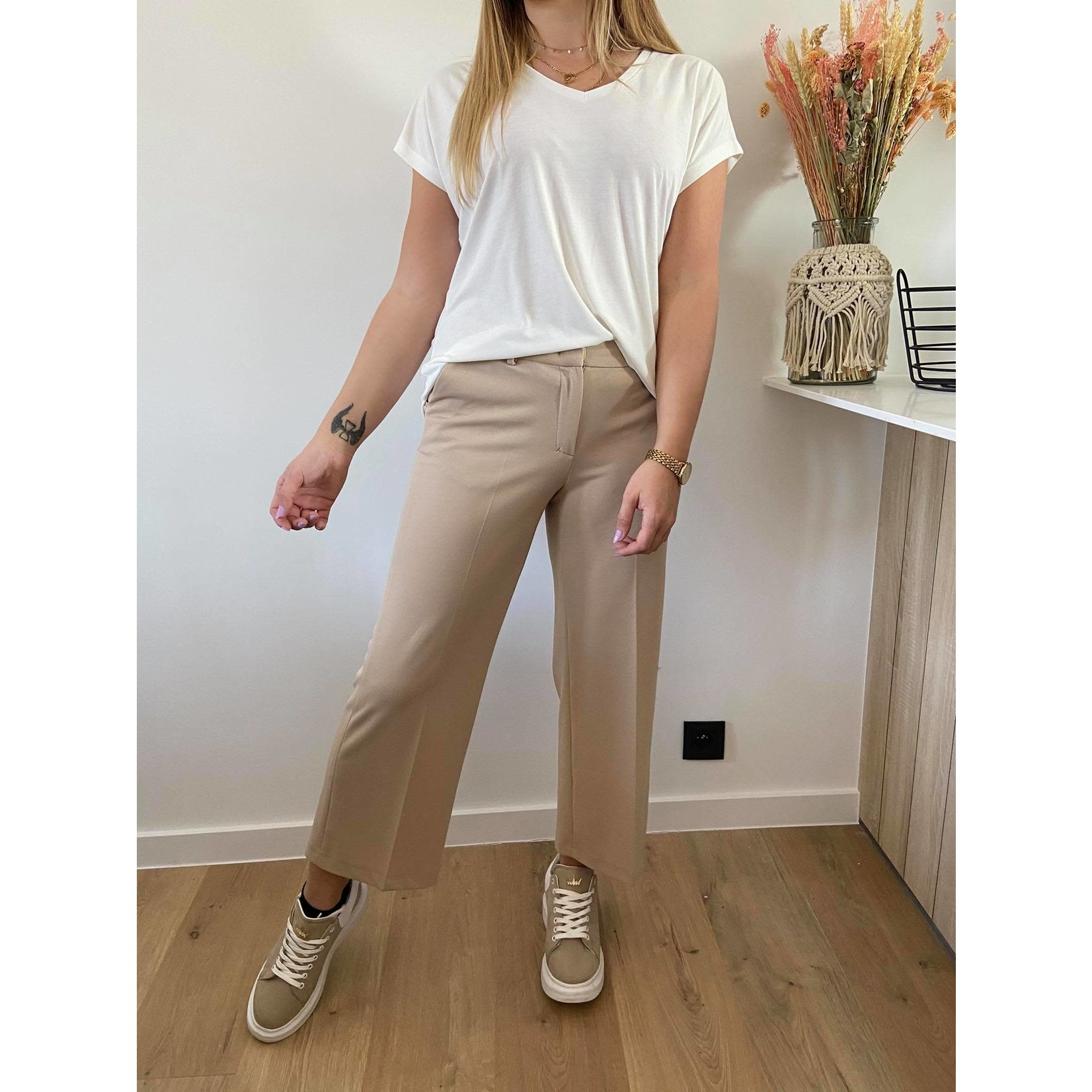 Trouser Miracles stetch beige