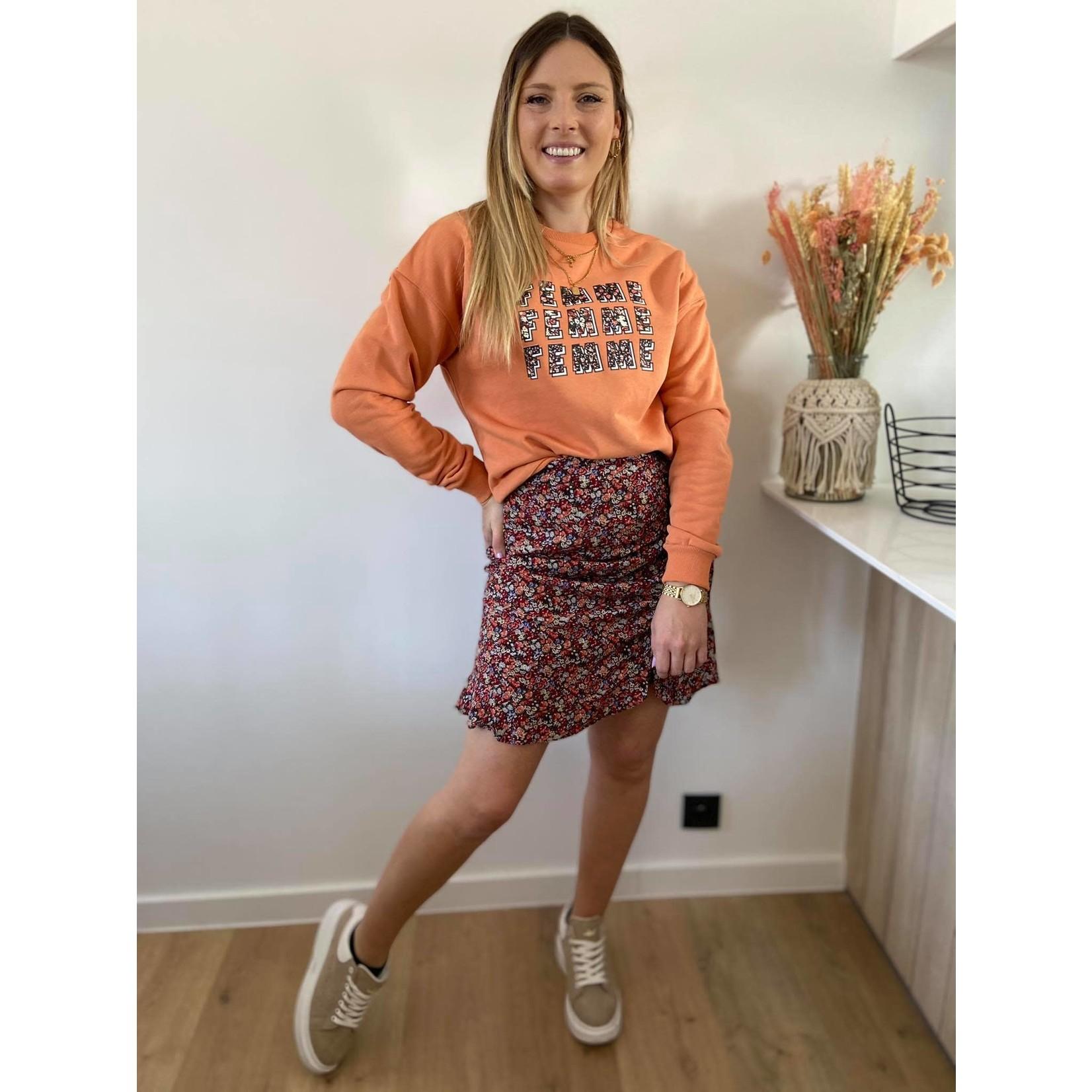 Sweater Gwen peach