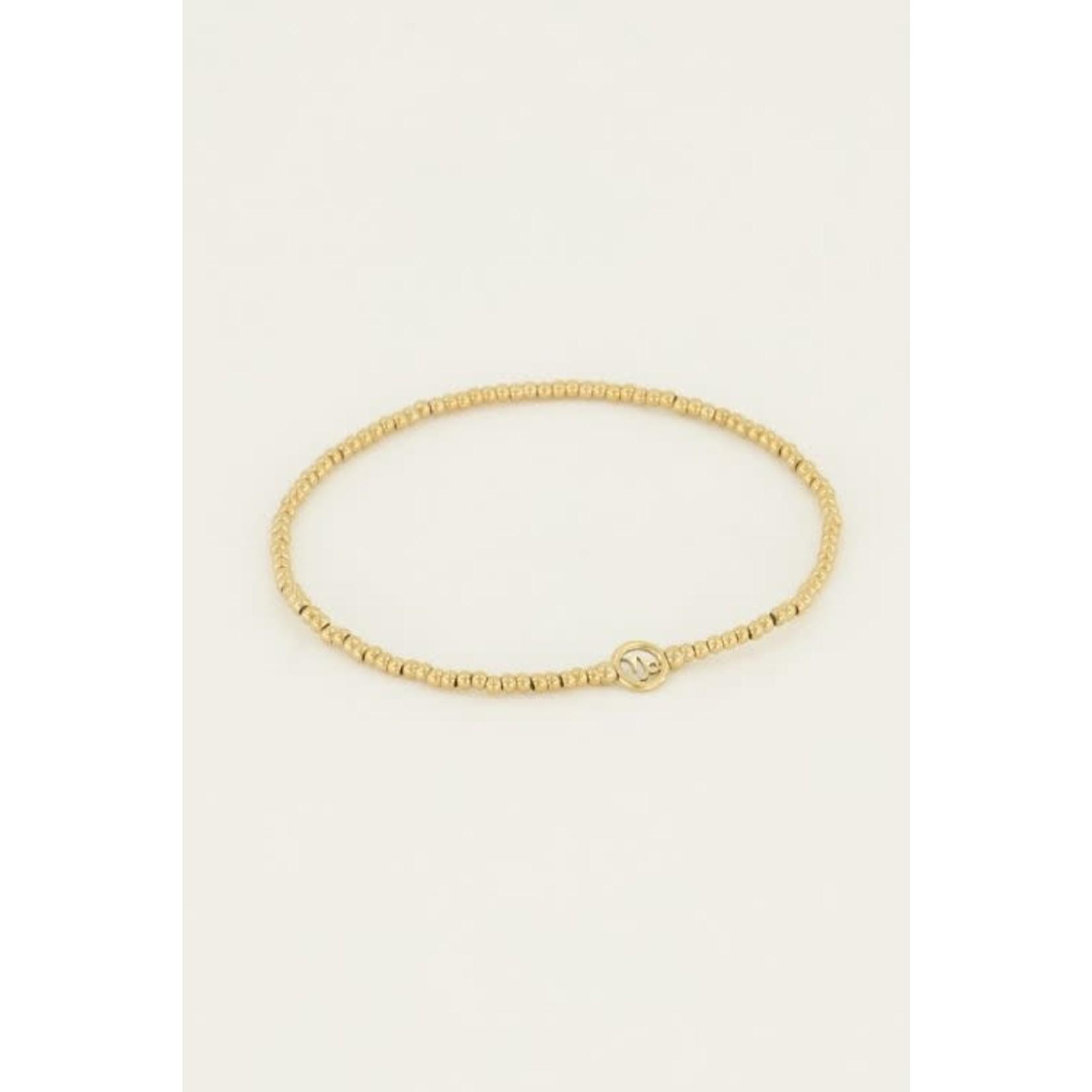 MY JEWELLERY armband zodiac goud