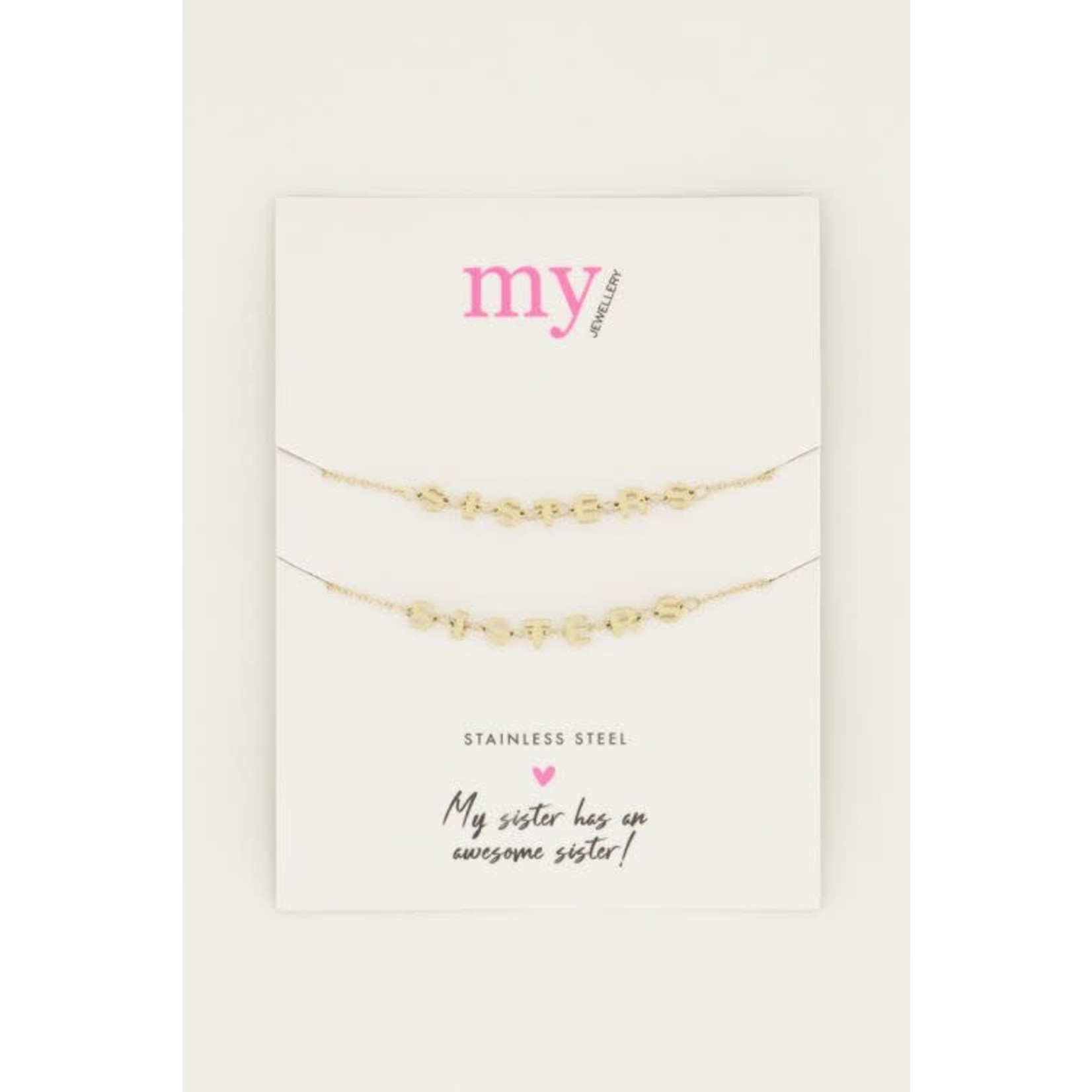 MY JEWELLERY Armband sisters set GOUD