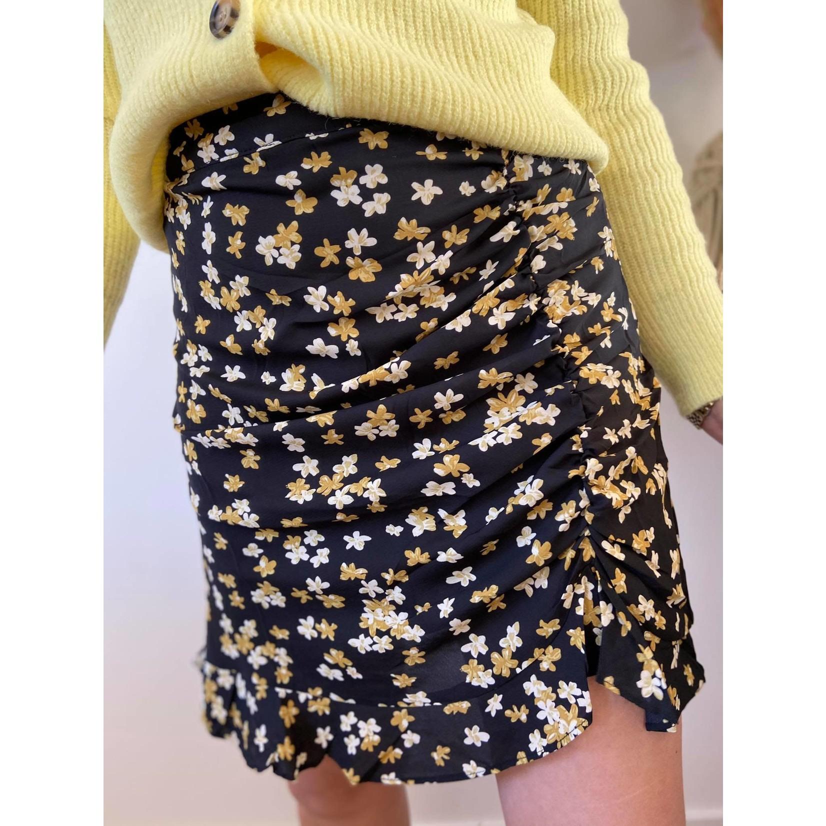 Skirt Dylana Yellow flower
