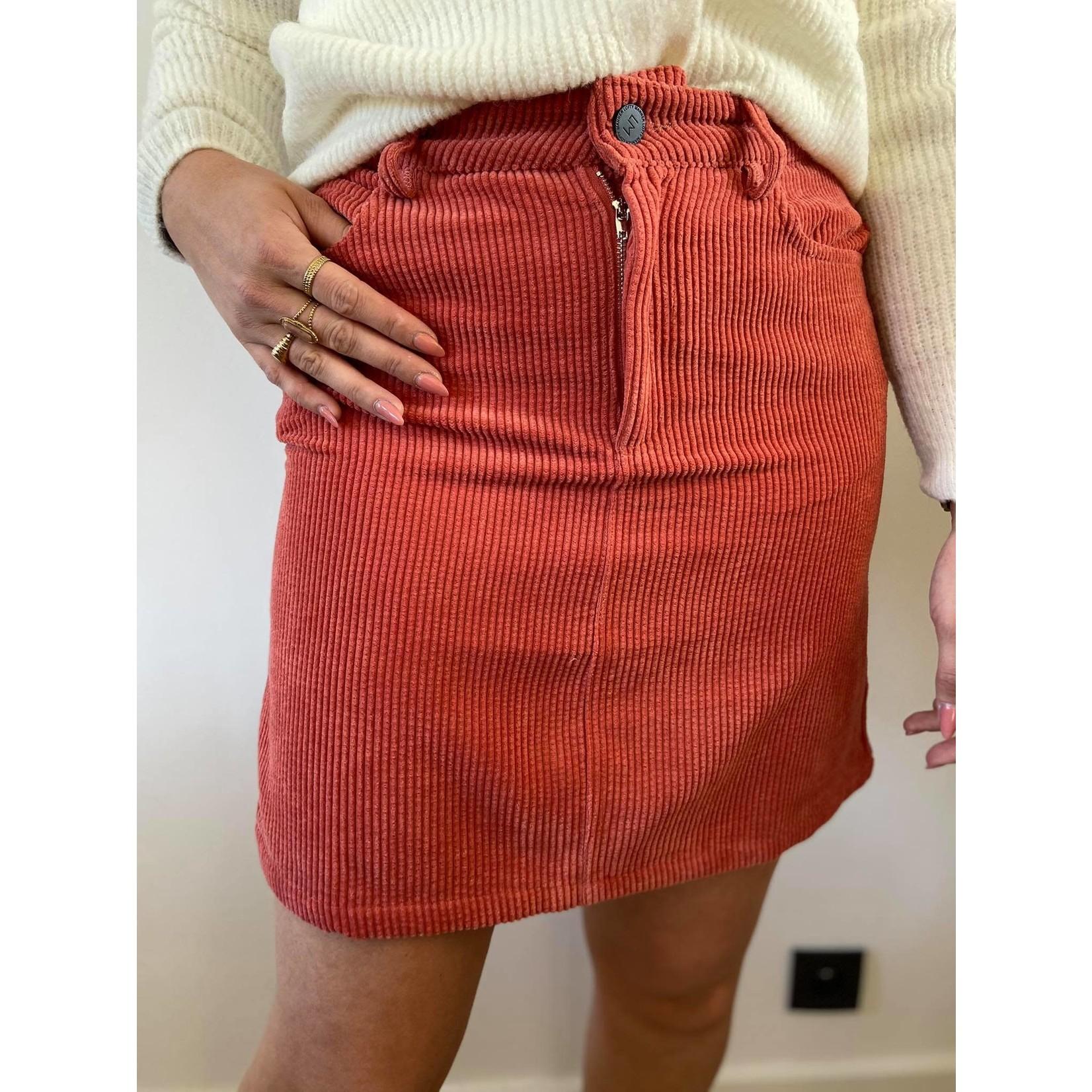 Skirt lida pink