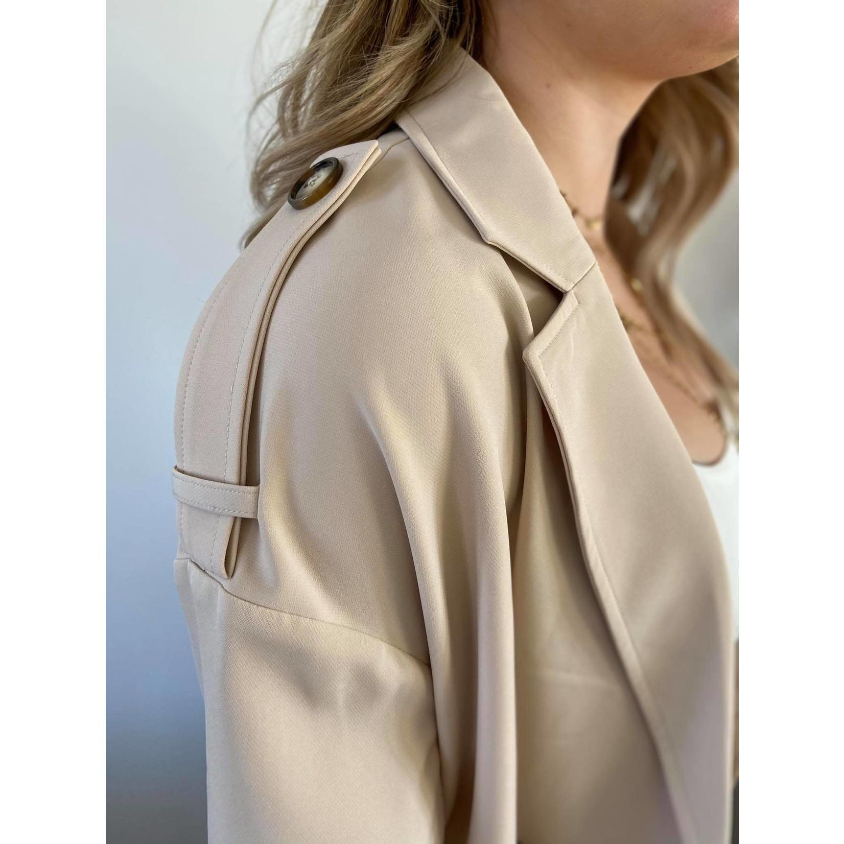 CLEO TRENCH COAT beige