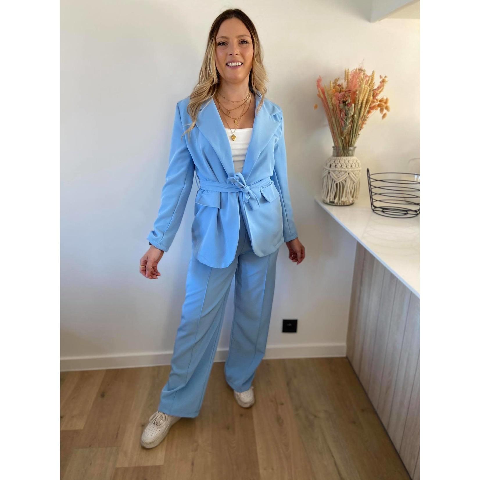 Perfect suit blauw TU