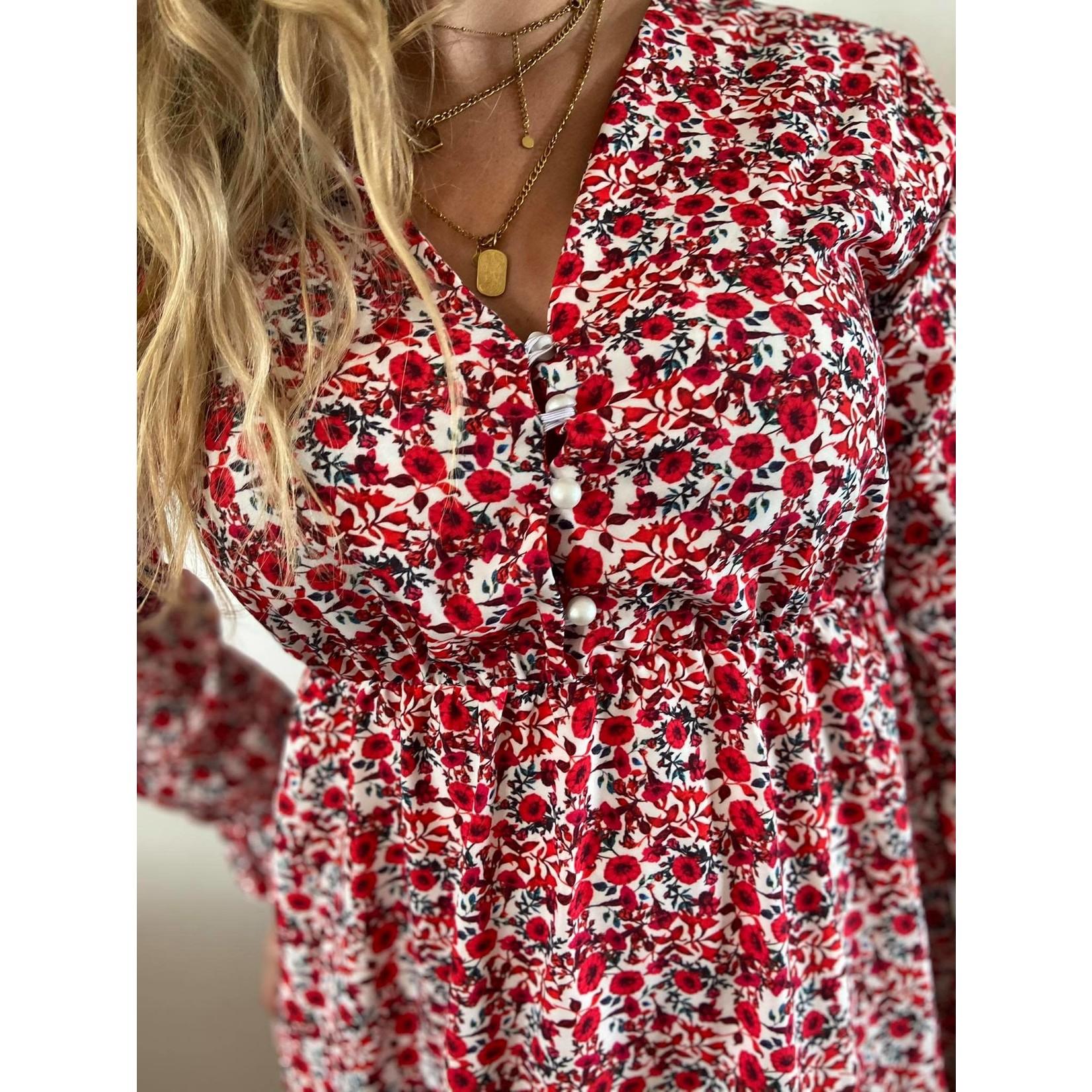 Val dress red TU