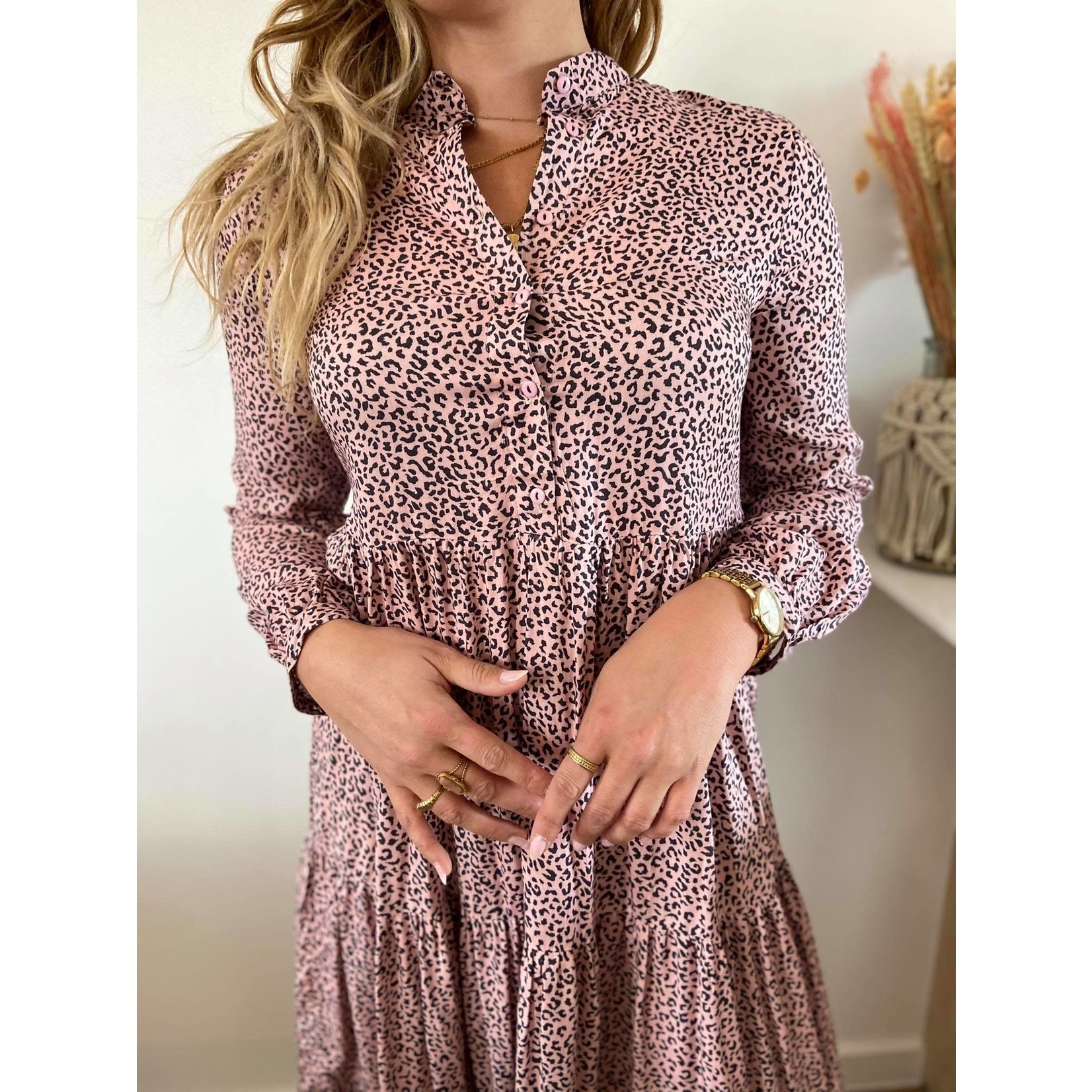 Luna pink tiger dress