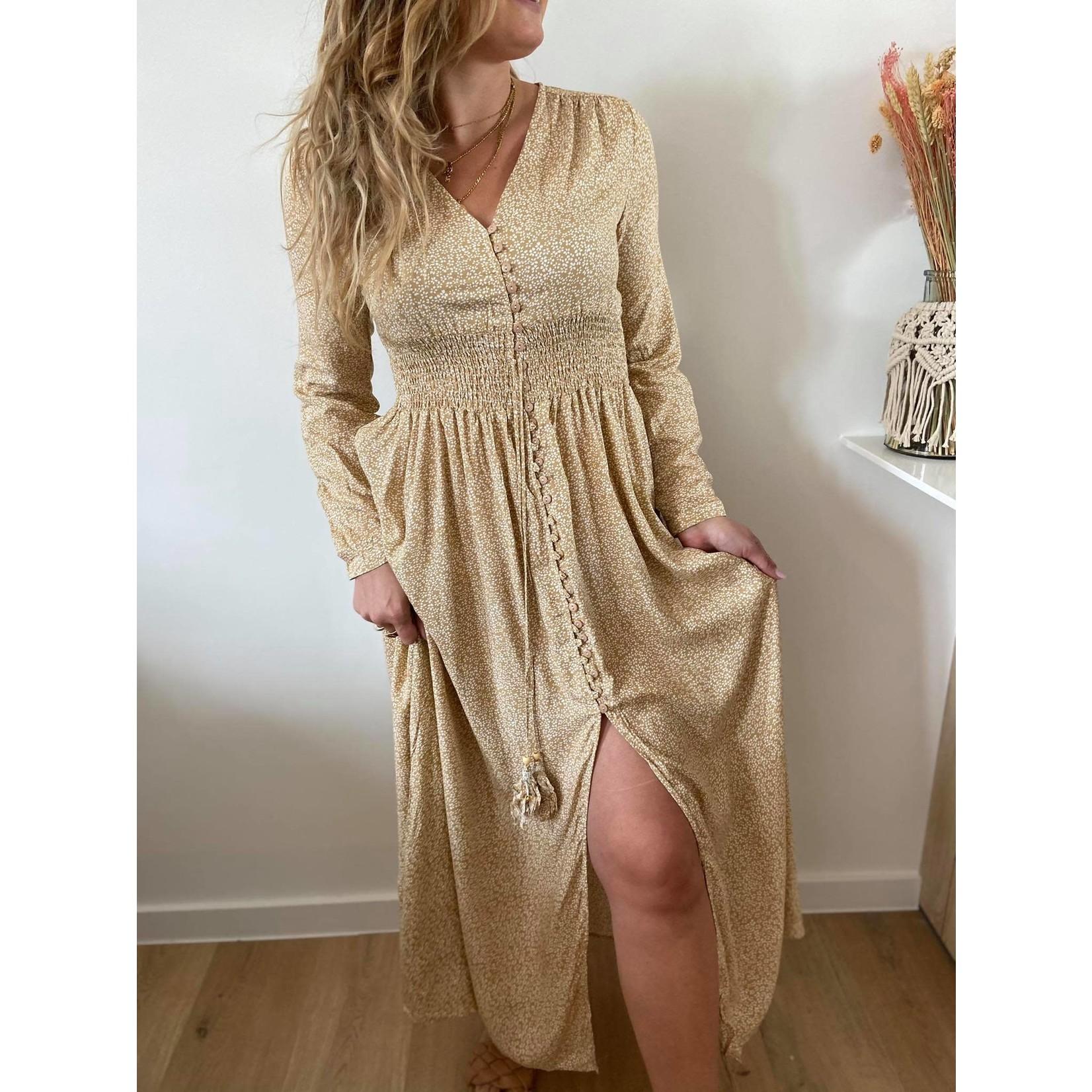 Julia dress beige