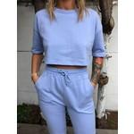 Joggingtop Soft blue