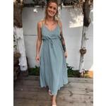 Maxi Strapped dress lala blue