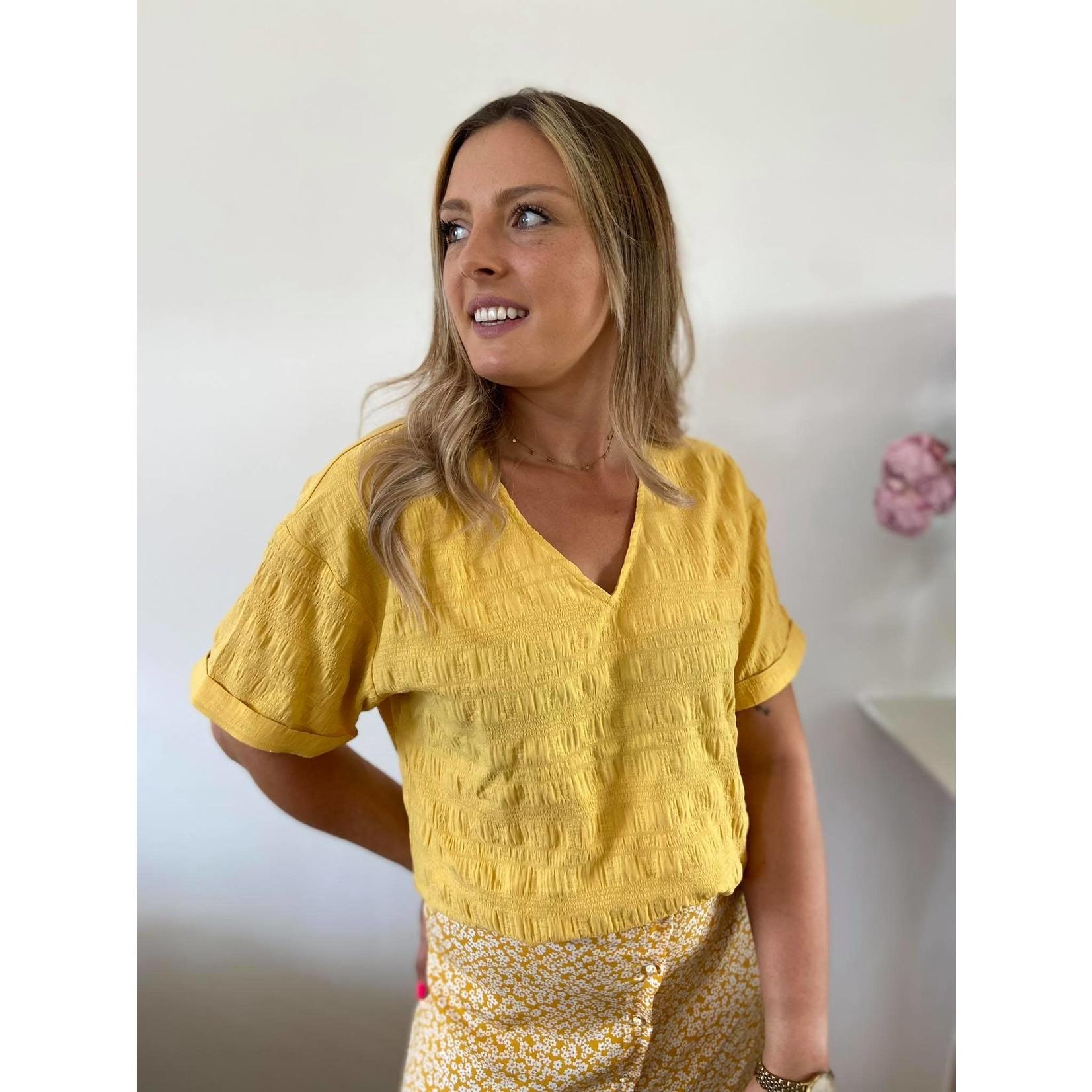 Cornelia blouse yellow