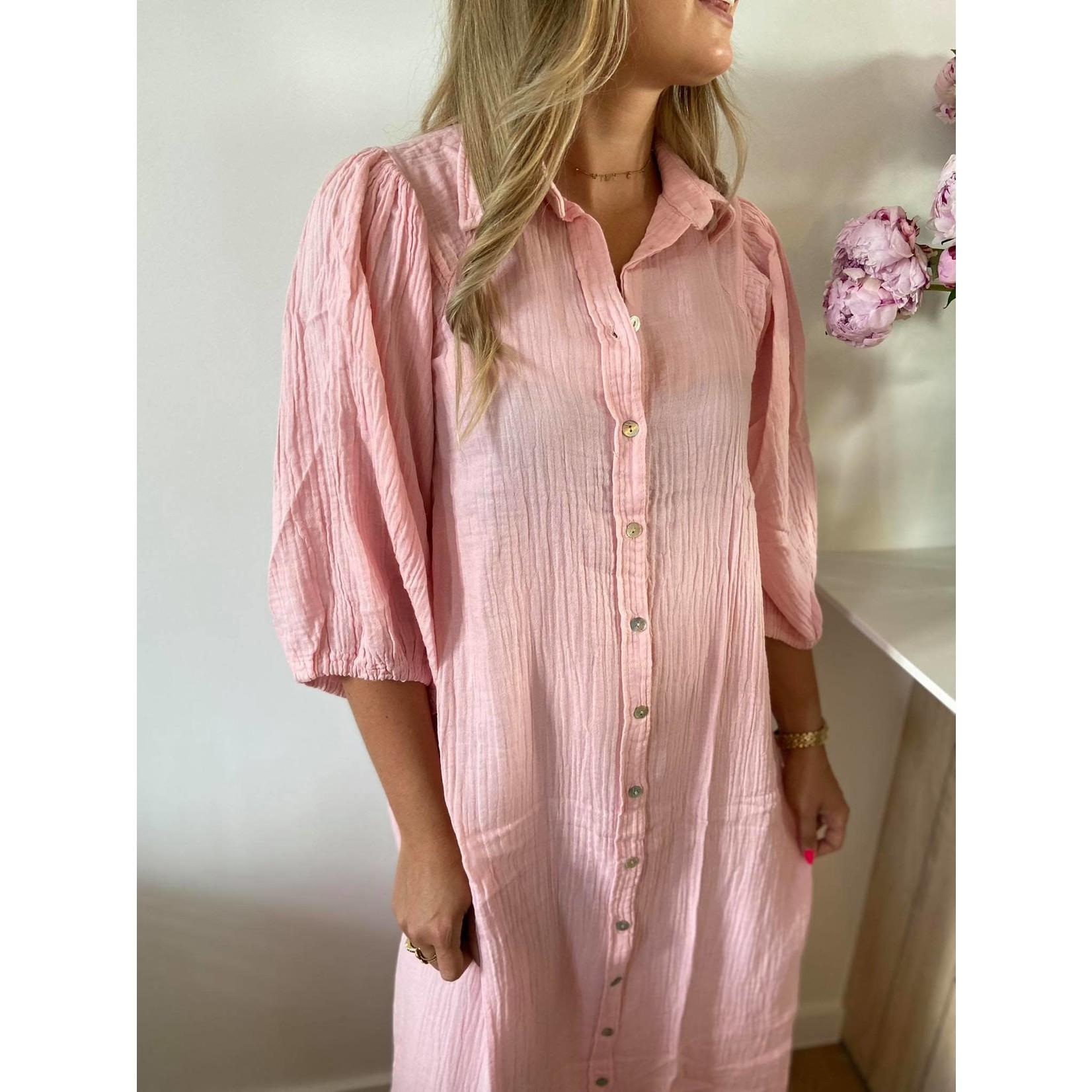 Tetra dress pink TU